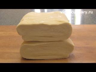 слоёное тесто быстрого приготовления самый лучший рецепт от бабушки эммы