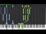 Пираты Карибского моря - уроки игры на пианино