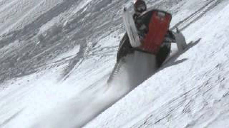 One Sick Sled Video! Polaris Turbo pro 800 Ski-Doo 860 by Rk-Tek 1000 Frames Per Second