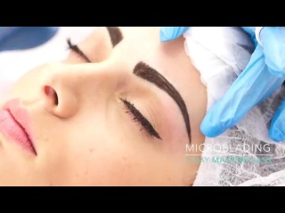 Eyebrow Microblading Step by Step with Soula Koutsogiannaki