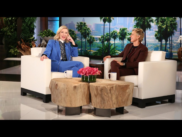 Cate Blanchett Guesses Her Co-Stars Lips