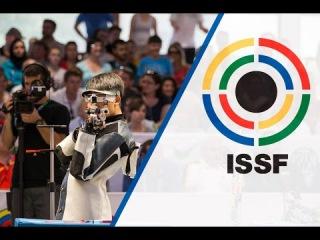 Finals 10m Air Rifle Men - ISSF World Championship in all events 2014, Granada (ESP)