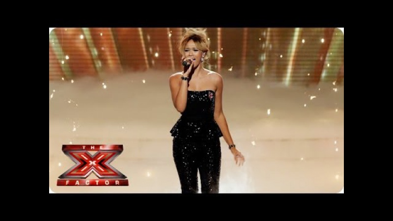 Tamera Foster sings Cry Me A River by Ella Fitzgerald - Live Week 5 - The X Factor 2013