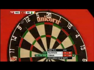 Hong Kong vs Ireland (PDC World Cup of Darts 2015 / Second Round)