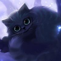 Логотип Чеширова котейня