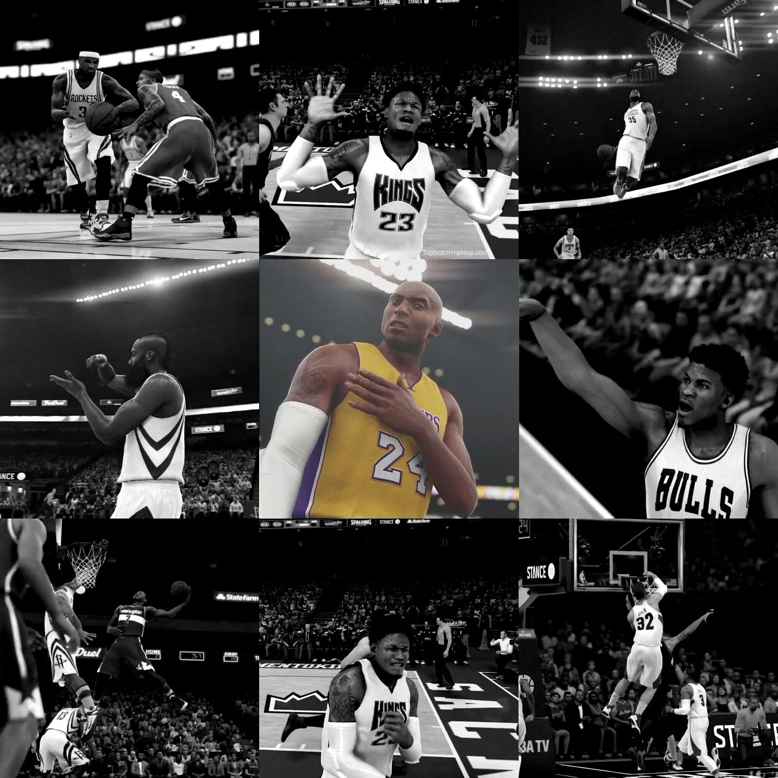Злой Коби в игре НБА2К16 2015 года