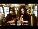Black Metal Busking in Prague, Metal Sucks