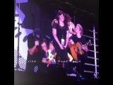 """The boys singing Happy Birthday to Sally!"