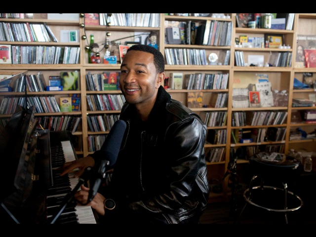 John Legend NPR Music Tiny Desk Concert