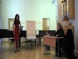 Мастер-класс Е. В. Образцовой (17.12.12) Касьян Юлия