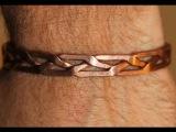 comment faire un bracelet en cuivre Make a copper bracelet