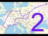 Путешествие по Европе на своём автомобиле. Часть 2 - Еврошпагат.