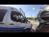 Гонки со светофоров: Польская полиция VS мотоциклисты