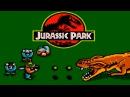 Jurassic Park прохождение NES, Famicom, Dendy