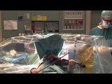 Скрипачка играет на скрипке во время операции на мозге нейрохирургия лечение медицина в Израиле шок жесть