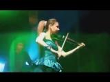 Электро скрипачка Марина Павлова - Vanessa Mae (скрипка, электроскрипка)
