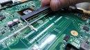 замена в ноутбуке разъема под оперативную память после установки клиентом памяти с перекосом