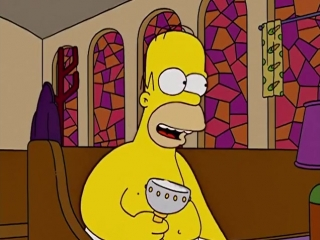 Homer Simpson - I Was Made For Lovin You (KISS)
