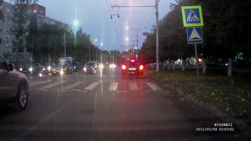 Чебоксарский мотоциклист погиб, сбив коляску с ребенком