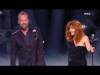 Mylene Farmer & Sting - Stolen car (NRJ Music Awards 2015, 7 novembre 2015)