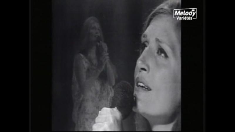 Dalida - Deux colombes (Live) 23/08/1971 - (Une cigogne sur la 2 (2e chaine)