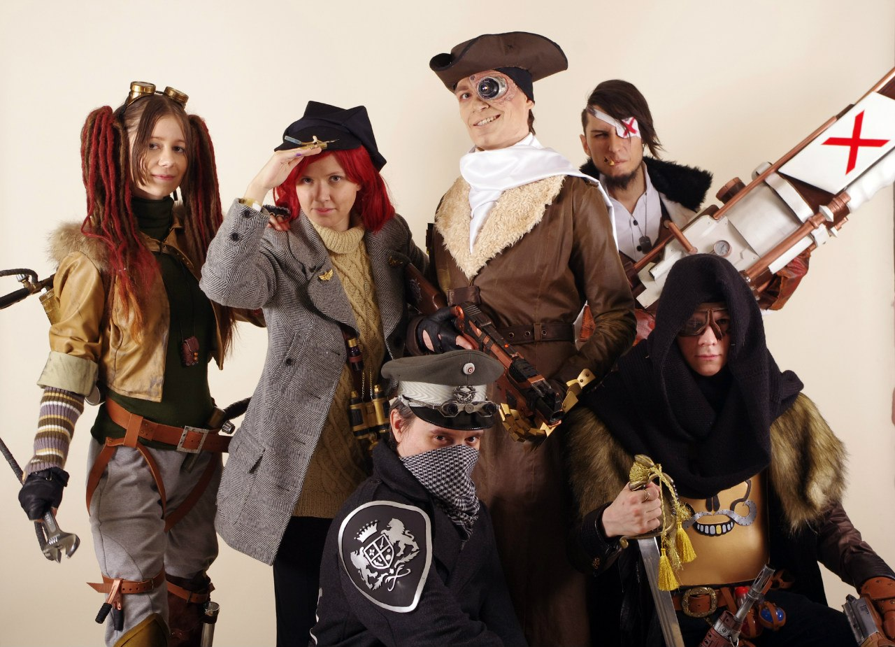 Воздушные пираты (косплей): версия вторая, улучшенная и дополненная
