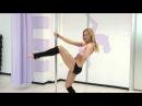 Poledance с Анной Елисеевой #11 (комбинация кузнечик+крутка с широким хватом; волны)