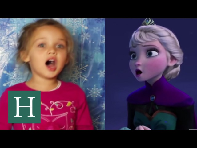 21 Mini Elsas Star In An Epic Supercut Of 'Let It Go'
