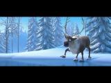 Лучший мультфильм о дружбе снеговика и лося. (позитивчик)
