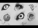 Pen Ink Drawing Tutorials How to draw realistic animal eyes
