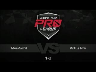 Virtus Pro vs MeePwn'd, Game 2 - joinDOTA MLG Pro League Europe