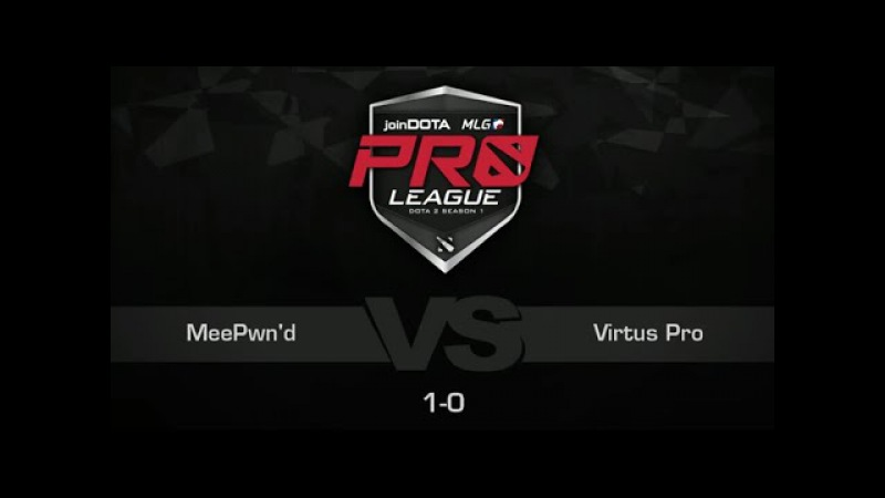 Virtus Pro vs MeePwn'd, Game 2 - joinDOTA MLG Pro League Europe