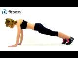 ВИИТ кардио- Домашняя высокоинтенсивная интервальная тренировка.  HIIT the Deck Cardio - At Home High intensity Interval Training Workout