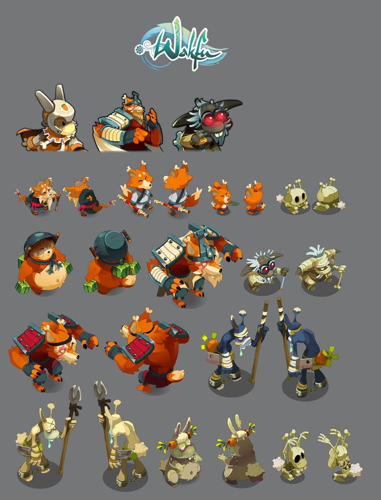 Dungeon Brawlers Art Pack 1 On Behance Tranh Pinterest