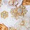 Брошь букет невесты, свадебные аксессуары