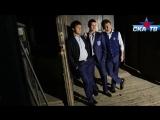 Панарин, Шипачев и Дадонов для журнала «Звезда СКА». Backstage