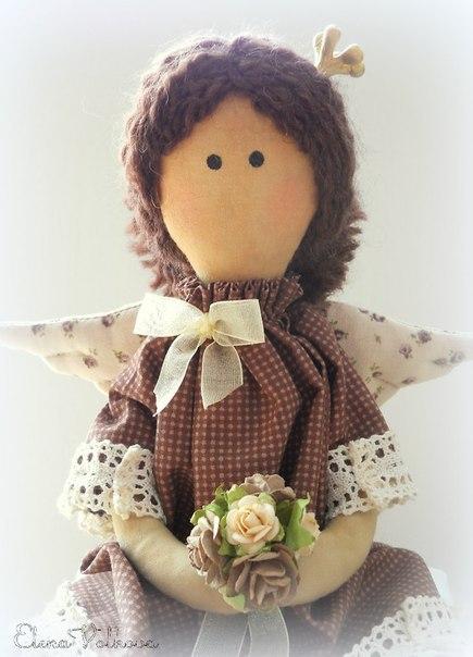 Кукла Тильда. Принцесса на горошине. Мастер-класс