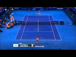 Maria Sharapova vs Mariana Duque Marino Highlights Acapulco OPEN 2015