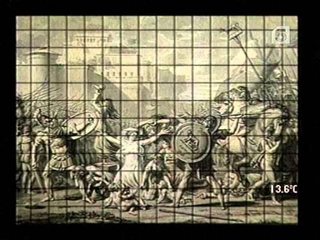 05 Palettes Jacques Louis David Революция в античном стиле Сабинянки