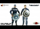 Video Review of the Hot Toys Captain America The Winter Soldier: Steve Rogers and Captain America