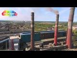 Новодвинск + Архангельский ЦБК с воздуха (съемка с дрона квадрокоптера год 2014)