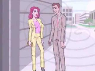 X-Ray glasses! Adult cartoon 18+ Мульфильм для взрослых