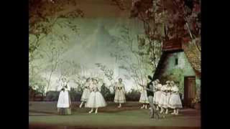 Галина Уланова Жизель балет 1956 Galina Ulanova Giselle