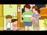 Time What time is it Time for breakfast. - Easy Dialogue - English video for Kids