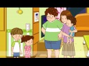 [Time] What time is it? Time for breakfast. - Easy Dialogue - English video for Kids