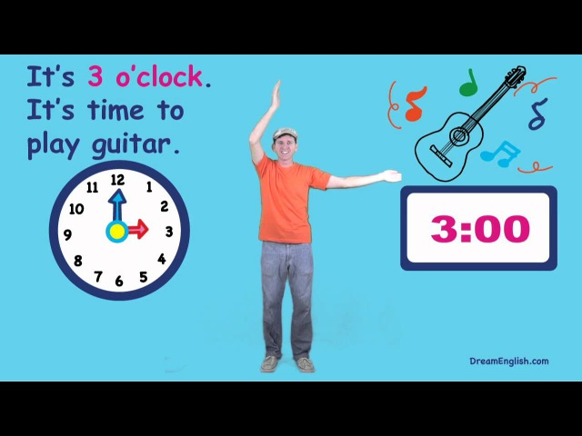 What Time Is It? Song for Kids | Preschool, Kindergarten, Learn English Children
