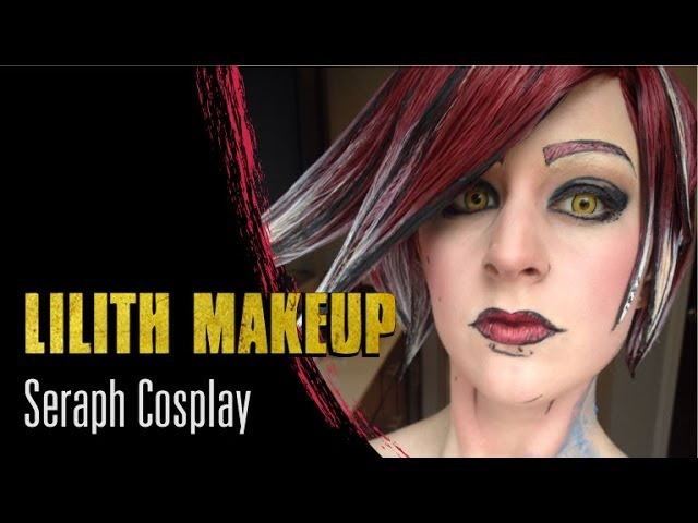 Borderlands 2 Lilith Cel Shading and Makeup - Seraph Cosplay