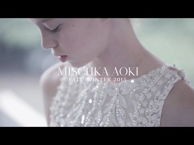 MISCHKA AOKI Craftsmanship The Making of The Fall Winter 2015 Couture Collection