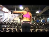 MICHELLE LEWIN - IFBB Bikini Pro: Shoulder Exercises | Ejercicios para Hombros @ Venezuela