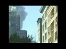 9/11 North Tower collapse. Shaking 12 seconds before collapse. Pulverization of steel spear.